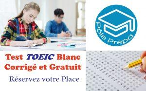 Test TOEIC blanc corrigé et gratuit, Pôle Prépa, 47 rue Saint Mathieu, 69008 Lyon